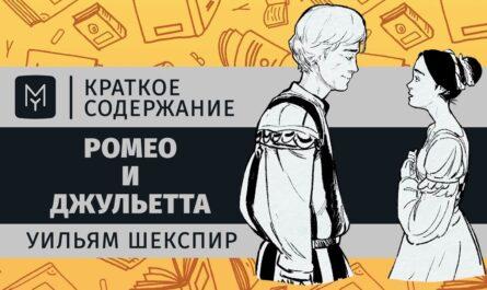 Краткое содержание - Ромео и Джульетта