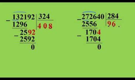 4 класс Математика   Письменное деление на трехзначное число mp4