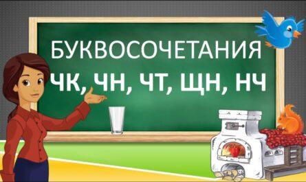 ЧК, ЧН, ЧТ, ЩН, НЧ. Русский язык 2 класс.