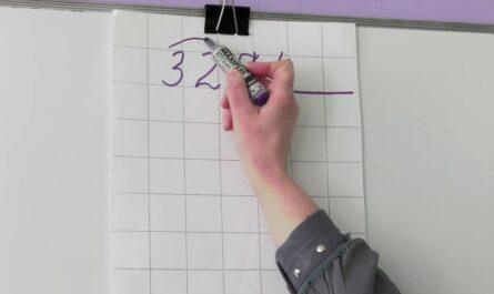 3 класс. Математика. Письменное деление трёхзначного числа на однозначное вида 328 : 4