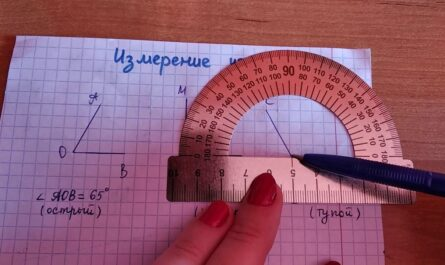 Измерение углов. Построение углов.