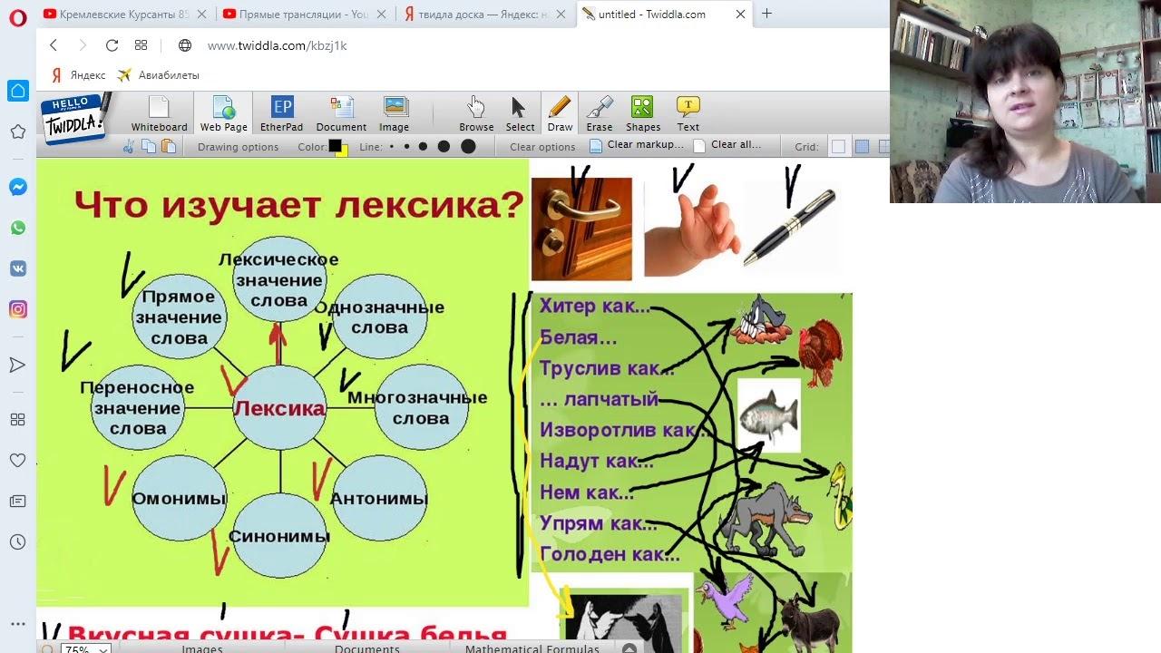 6 класс Урок № 11 Лексика и Фразеология. Повторение