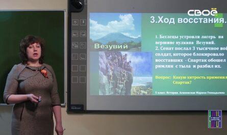 История для 5 класса. Восстание Спартака