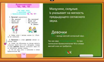 "Видеоурок. ЧК, ЧН, ЧТ.1 класс. ""Школа России""."