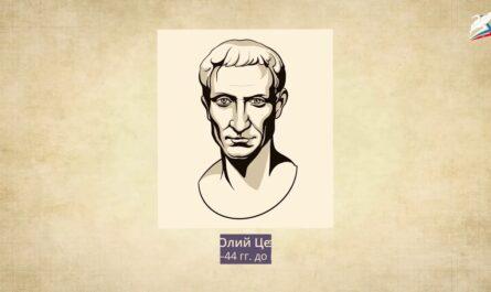 Единовластие Цезаря. Установление империи в Риме