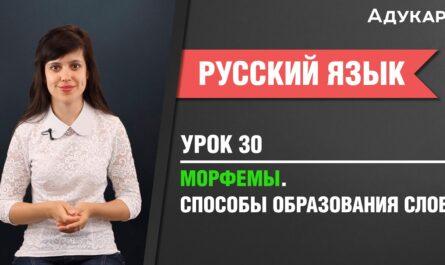 Морфемы. Словообразование | Русский язык ЕГЭ, ЦТ