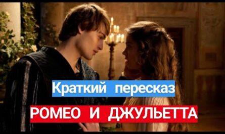 """Краткое содержание пьесы Шекспира """"Ромео и Джульетта"""""""