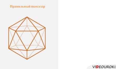 """Видеоурок по математике """"Понятие правильного многогранника"""""""