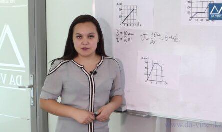 7 класс, 6 урок, Графики зависимости пути и скорости от времени