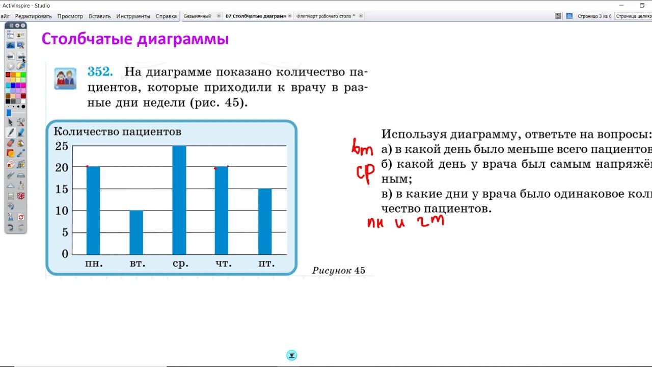 07 Столбчатые диаграммы