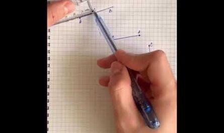6 класс (Математика) Тема: Перпендикулярные и параллельные прямые