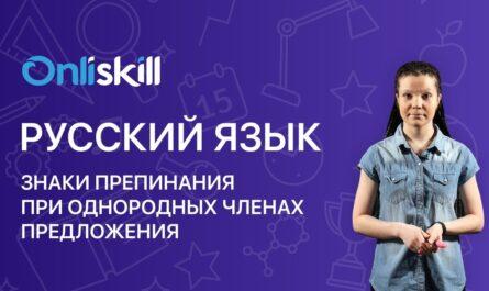 Русский язык 6 класс: Знаки препинания при однородных членах предложения