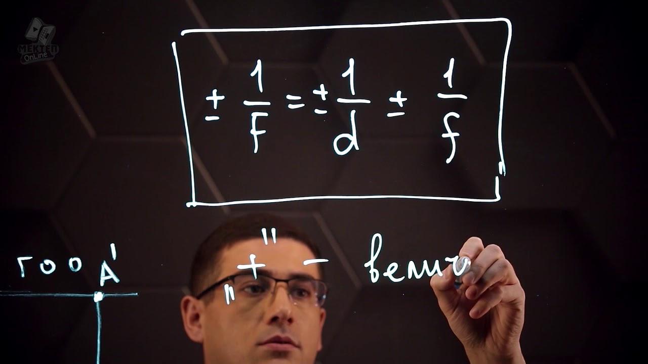 Линзы, оптическая сила линзы, формула тонкой линзы.Построение изображений в линзах. 8 класс.