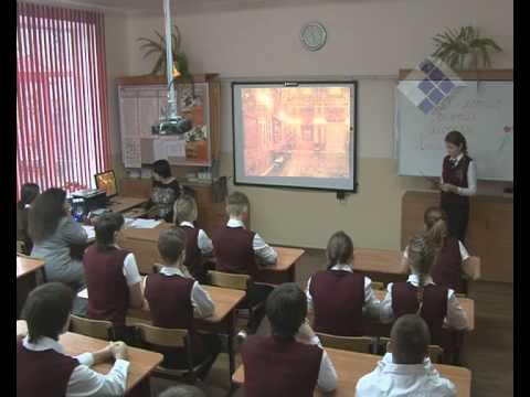 Урок истории города на Неве
