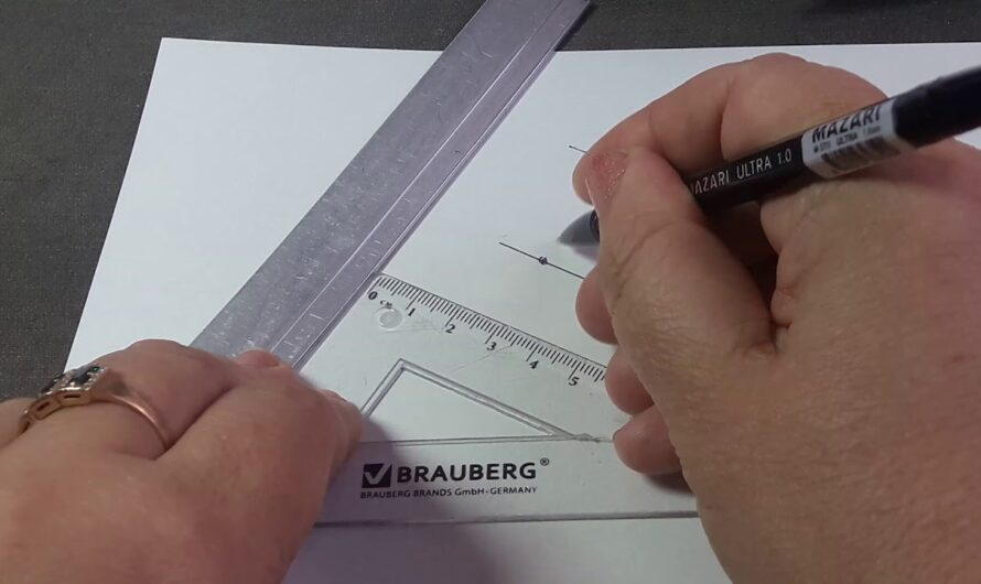 6 .7 кл Построение параллельных прямых.Как построить параллельные прямые