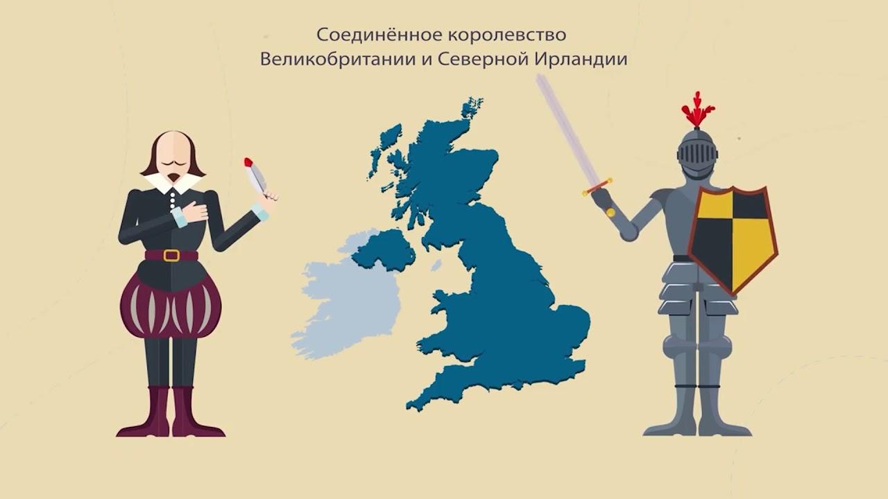 Окружающий мир. Франция и Великобритания. Юг Европы.