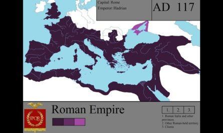 История РИМСКОЙ ИМПЕРИИ на карте