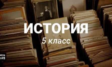 5 класс - История - Единовластие Цезаря - 06.05.2020