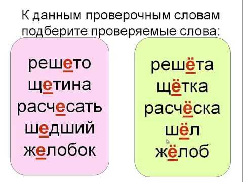 Орфография  О- Ё после шипящих в корне слова .(5-11 классы).