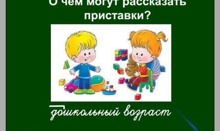 Русский язык: Раздел - Состав слова