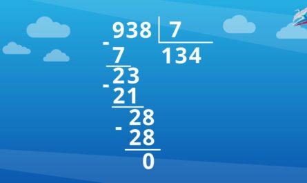 Алгоритм письменного деления трехзначного числа на однозначное