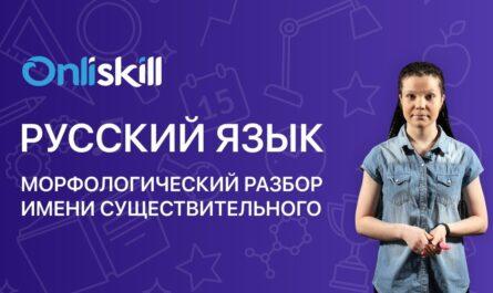 Русский язык 6 класс: Морфологический разбор имени существительного