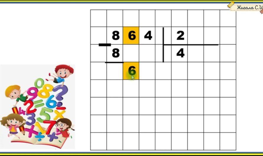 Письменный приём деления трёхзначного числа на однозначное, 3 класс. УМК Школа России
