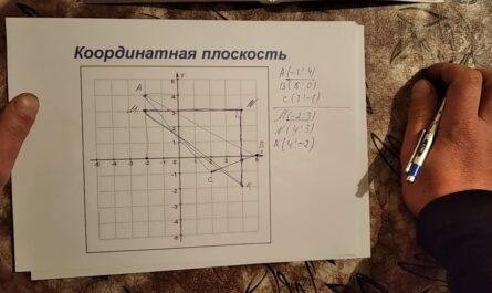 Координатная плоскость.2 часть.6 класс