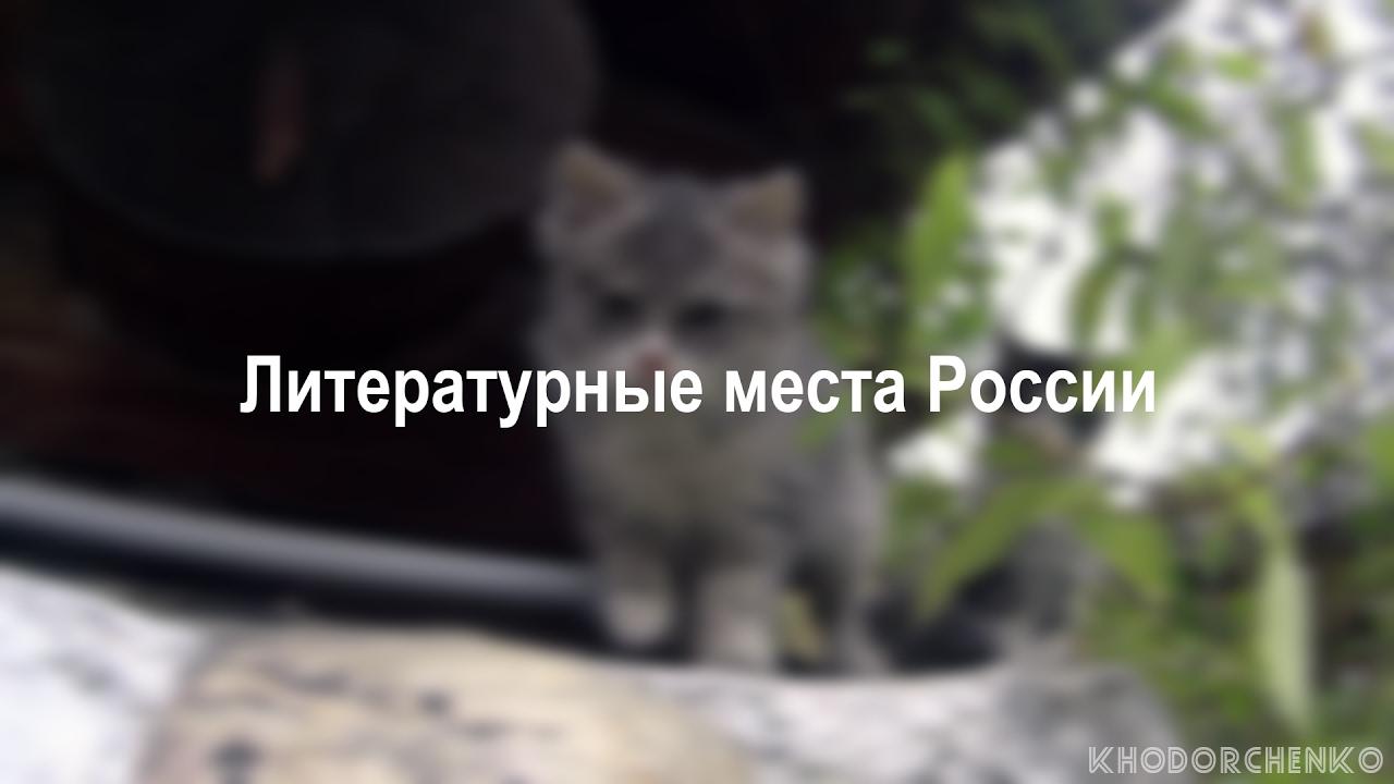 ЛИТЕРАТУРНЫЕ МЕСТА РОССИИ   KHODORCHENKO