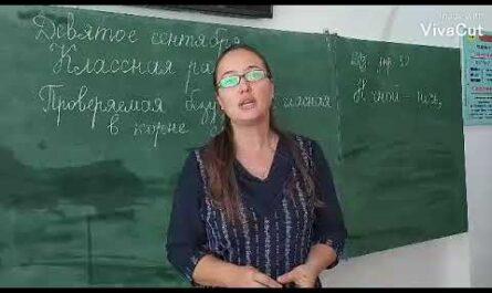 Русский язык 5 класс Орфограмма 1