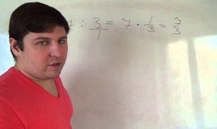 Математика 6 класс. Деление дробей