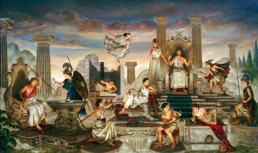 Религия древних греков ( 5 класс )