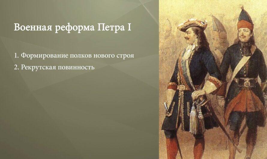 Северная война 1700–1721 гг.