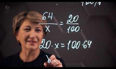 Решение задач на проценты способом пропорции. 6 класс.