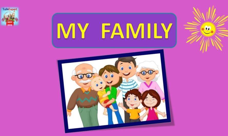 👨👩👧👦  БЫСТРЫЙ АНГЛИЙСКИЙ!!! АНГЛИЙСКИЙ ЯЗЫК С НУЛЯ.  ГОВОРИ СРАЗУ!!! MY FAMILY. EASY ENGLISH