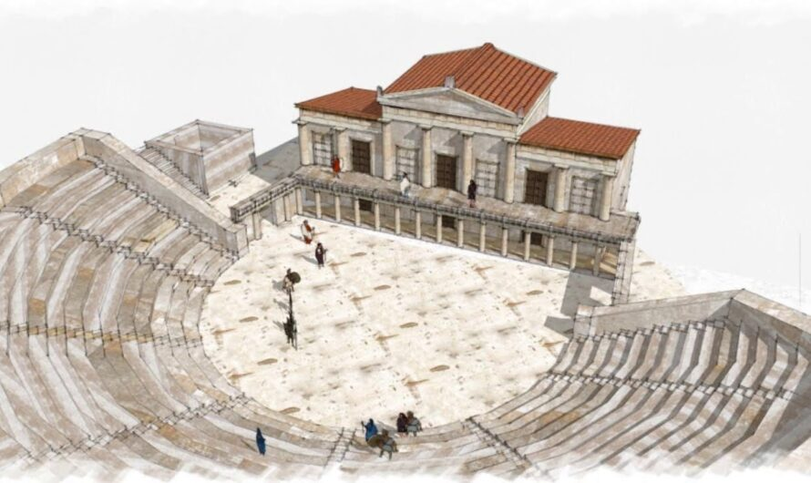 В афинском театре