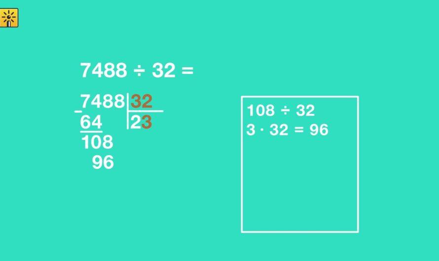Математика 4 класс.Письменное деление на двузначное число. Видеоуроки